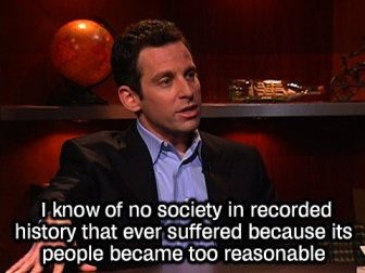 Sam Harris, author of The End of Faith and The Moral Landscape
